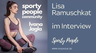 Lisa Ramuschkat ist Sport Moderatorin bei Sport1 und zu Besuch bei Ivana Jagla
