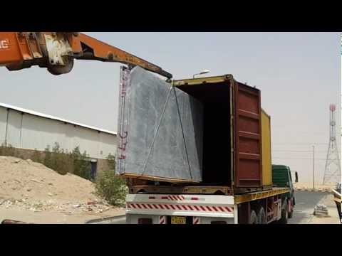 Marble Transportation & Cutting (DarNofa) for Avenues Phase III Kuwait