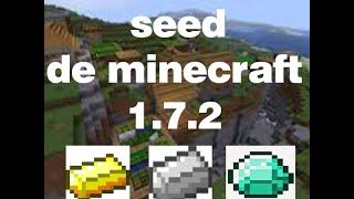 semilla epica 1.7.2 minecraft diamantes ,oroy hierro