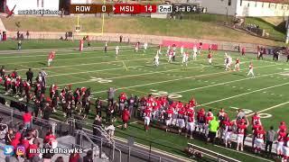 Montclair State Football Highlights vs. Rowan - 11/3/18