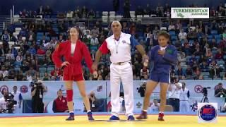 Gülbadam Babamyratowa, Золотая медаль. World Sambo Championships. Sochi 2017