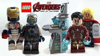 Lego Avengers Age Of Ultron Attack On Avengers Tower Review! 76038