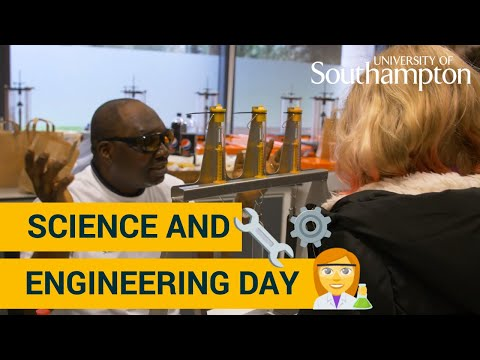 Science And Engineering Day   University Of Southampton