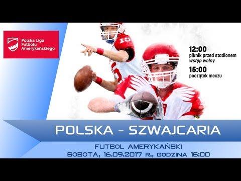 POLAND - SWITZERLAND / LIVE / American Football [16/09/2017]