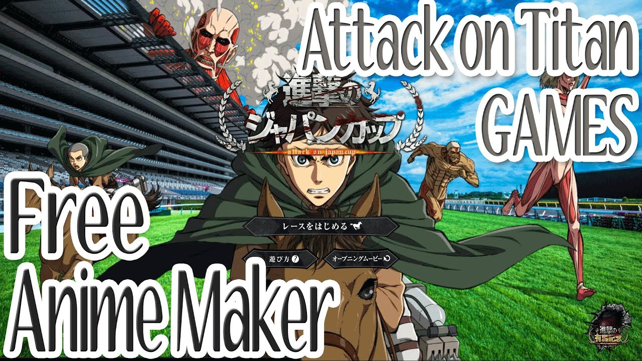 CLOSED Attack on Titan Japanese Mini-Game and Anime ...