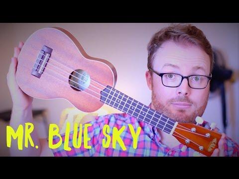 MR. BLUE SKY (E.L.O) - GUARDIANS OF THE GALAXY 2 UKULELE TUTORIAL!