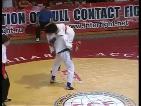 Full contact martial arts, IF FCF, Championship Eurasia, Caucasus, Russia, the fight