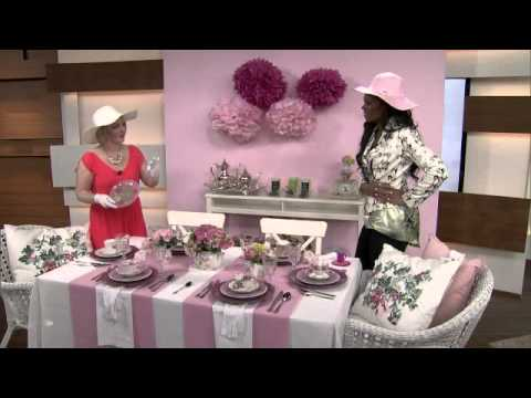 The perfect Mother\u0027s Day tea party - YouTube