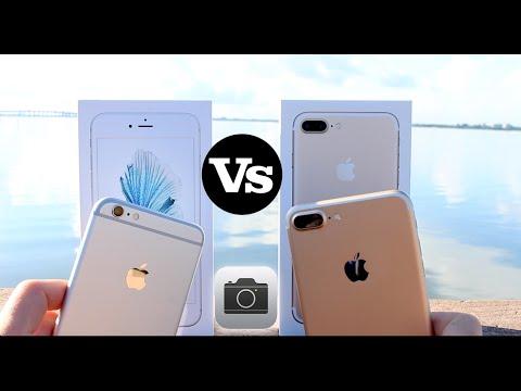 iPhone 7 Plus Vs iPhone 6S Plus (Cameras)