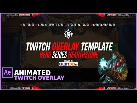Full Download] Animated Overlay Pack For Streamers