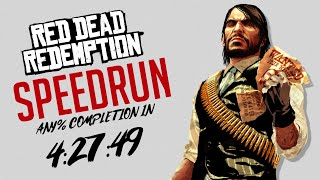 Red Dead Redemption Any% World Record Speedrun in 4:27:49