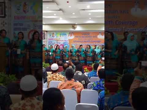 Lagu Fakfak Nahnahanin..Dikes Fakfak Rakorkesda Papua Barat