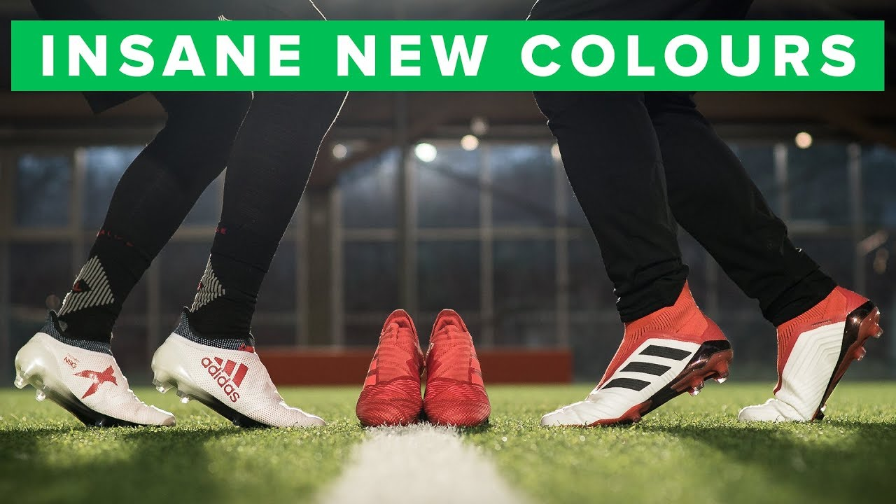 d74ba6dec2f adidas Cold Blooded Play Test   Challenge - sick colours for Pogba   Suarez
