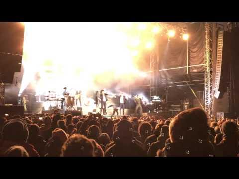 Seeed-Konzert im Februar 2016 am Hauser Kaibling