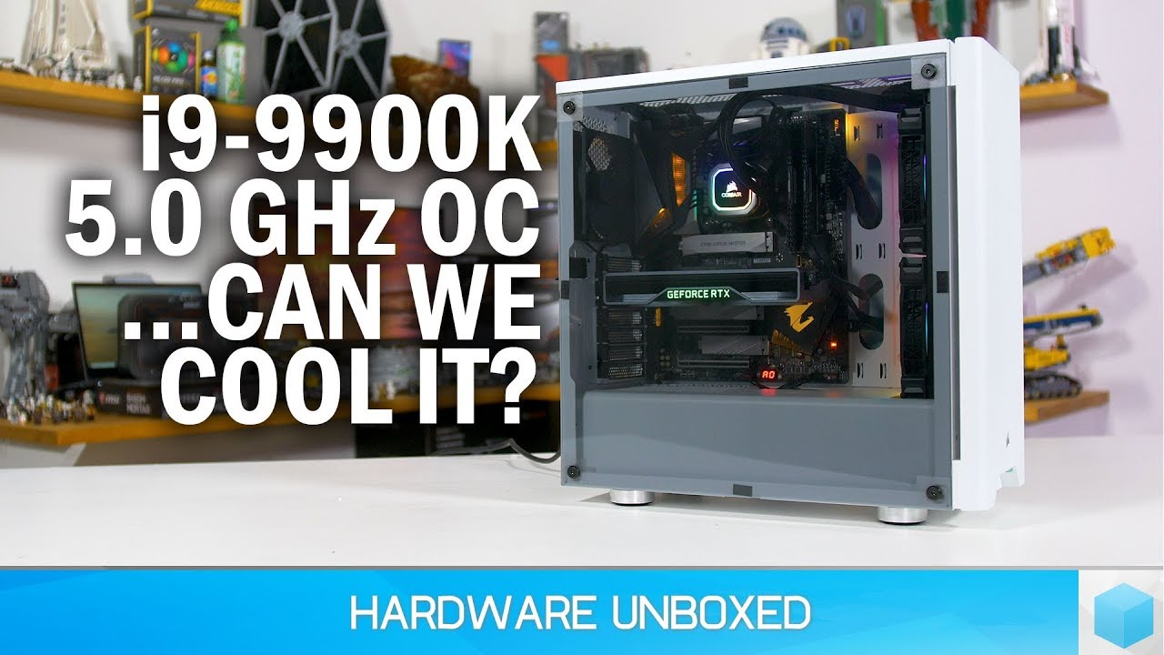 Core i9-9900K Upgrade, Can We Cool This Hot CPU? Corsair H115i Platinum  Tested!