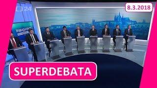 SUPERDEBATA ČT: Velmi kritické zhodnocení inauguračního projevu Miloše Zemana!