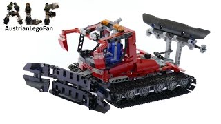 Lego Technic 8263 Snow Groomer - Lego Speed Build Review