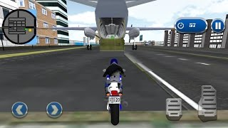 Police Airplane Moto Transport - Android Gameplay HD