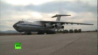 Самолеты ВКС РФ доставили в Сирию  50 тонн гуманитарного груза(, 2016-02-11T08:27:56.000Z)