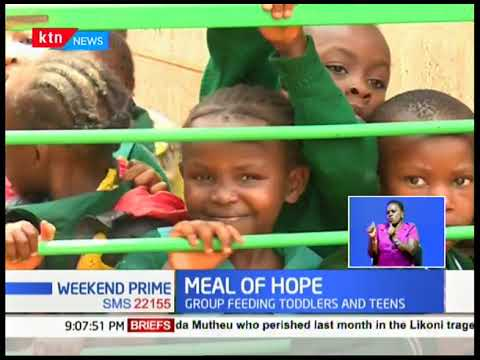 Meal of Hope: Group of wellwishers feeds 50 needy children
