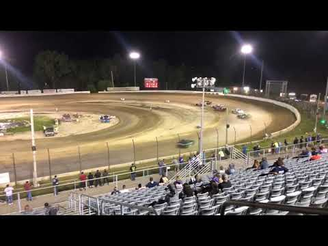5-23-20 Plymouth Speedway, IN Thunder Stock - Feature Austen Hubbard winner! (no podium due to covid ) - dirt track racing video image