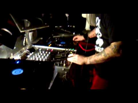 DJ Terror at the Industrial Strength Records tour, Newcastle UK