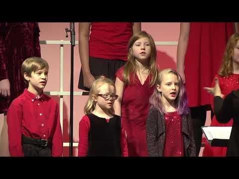 December 24 2017 Angel Choir - Christmas is All Around