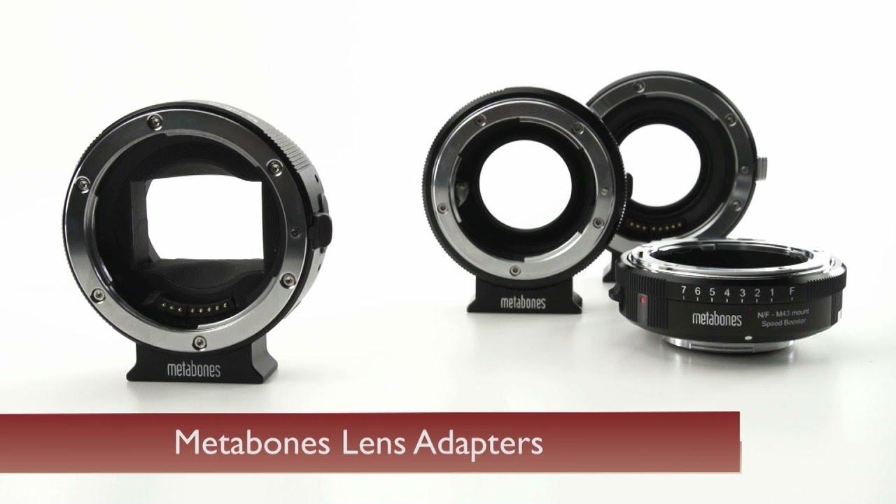 Metabones Lens Adapters - YouTube
