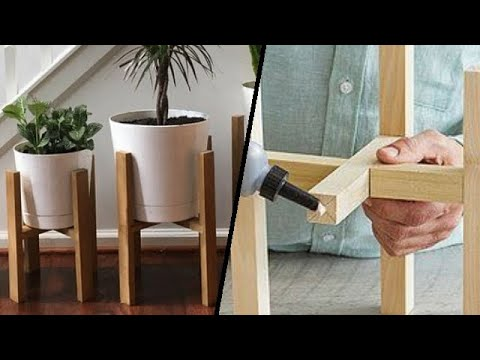 DIY Plant Stand Ideas Inspiration For Your Out Door & Indoor Room