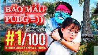 MÈO 2K4 GÁNH TẠ THẦN KỲ DŨNG CT VÀO TOP 1 GIẢI DUO PUBG =))))