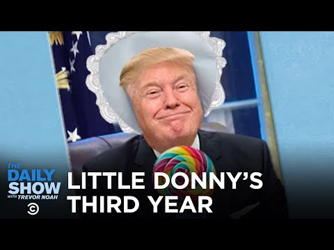 Little Donny's 3rd Year | The Daily Show