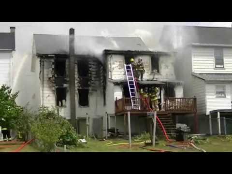 Porter Township House Fire Video  Part One 7-9-2010.wmv
