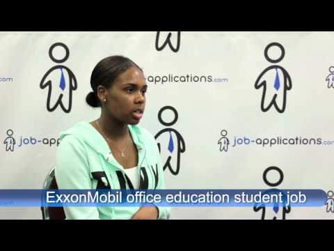 ExxonMobil Interview - office education student