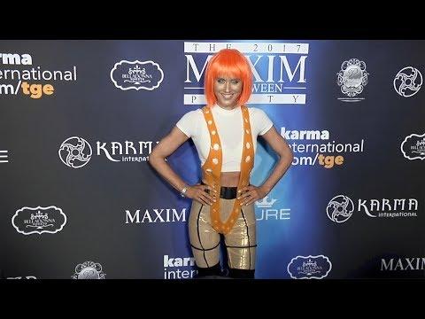 Nicky Whelan 2017 Maxim Halloween Party