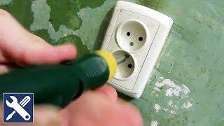 Ремонт двойной розетки.(Ремонт двойной розетки: как соединить провода алюминиевый и медный правильно. Выключить электричество..., 2015-12-27T10:00:33.000Z)