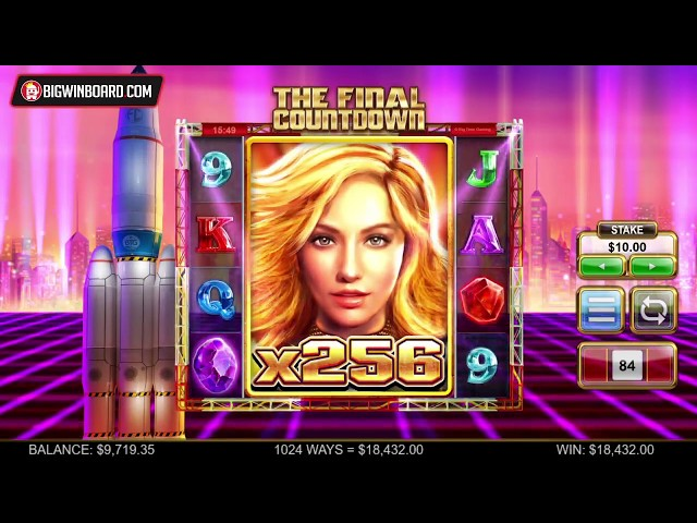 THE FINAL COUNTDOWN (BIG TIME GAMING): EPIC WIN