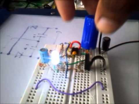 automatic on and off night lamp mini project+circuit diagram