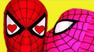 spiderman vs pink spidergirl in real life spider man dates spidergirl fun superhero movie