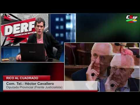 Cavallero: Son perversos, le quieren encajar el fardo a Perotti