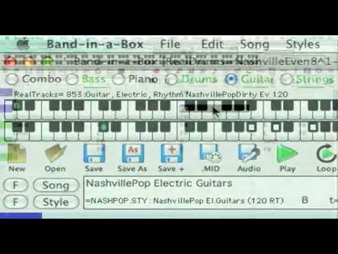 Band-in-a-Box 2009.5 for Macintosh