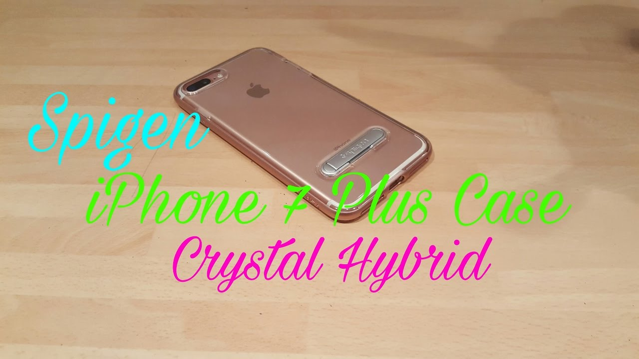 the best attitude f8119 da5d5 Spigen iPhone 7 Plus Case Crystal Hybrid