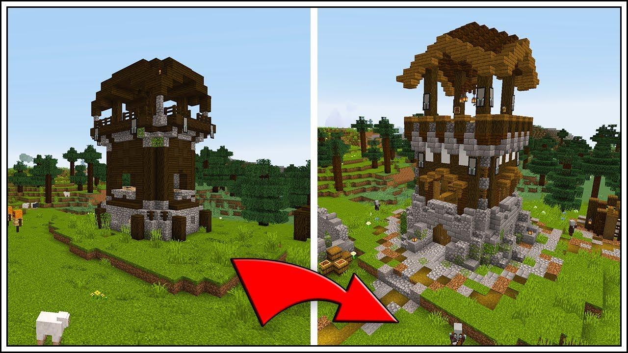 Minecraft 9.94 ▶ Pillager Outpost Transformation!!!