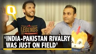 India-Pakistan Players Went Out, Ate Together After Games: Afridi | The Quint thumbnail