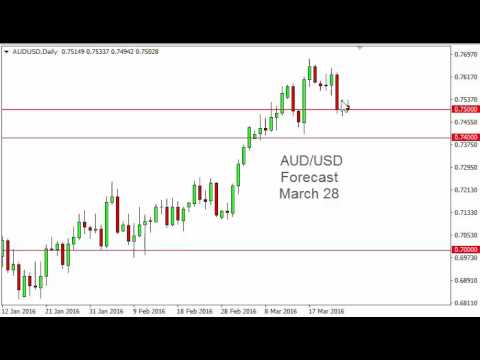 AUD/USD Technical Analysis for March 28 2016 by FXEmpire.com