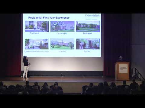 Residential First Year Experience — UMass Amherst Student Success Presentation