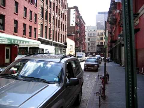 Intersection of Crosby Street and Grand Street - New York City