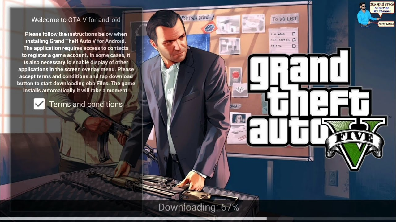 GTA V from Android How to download GTA V on Android Real or Fake detail (in  Hindi)