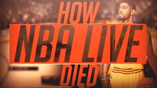 THE STORY OF HOW NBA 2K DETHRONED NBA LIVE - NBA 2K17 VS NBA LIVE 17