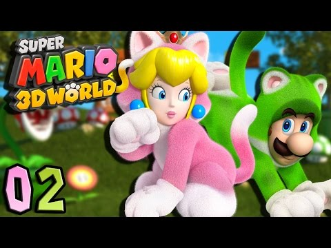 Blondie ft Siphano | MARIO 3D WORLD #02 : Déguisés en chat ?