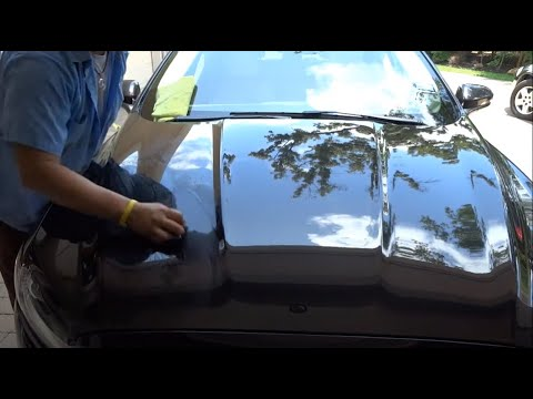 "How to remove Epoxy spray paint overspray ""Auto Paint Overspray Removal of Texas Onsite Services"""